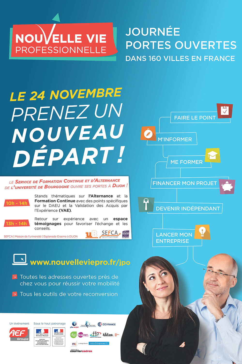 Affiche JourneePortesOuvertes SEFCA